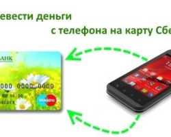 Как вывести деньги с телефона на карту
