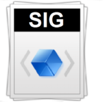 Чем открыть файл в формате sig на компьютере