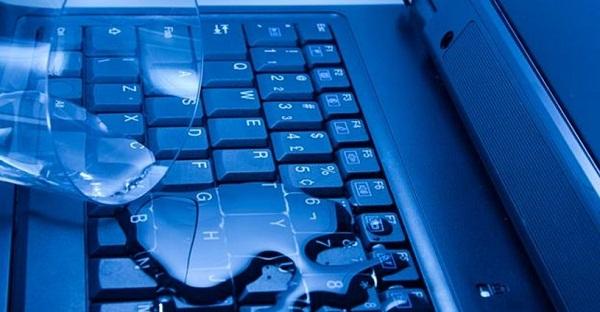 заливания клавиш жидкостью