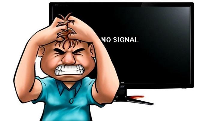 Почему нет сигнала на мониторе при включении компьютера