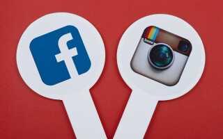 Как привязать Фейсбук к Инстаграму