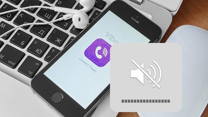 Как в Вайбере отключить звук входящих сообщений